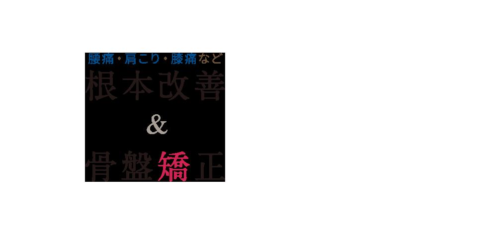 浦和の整体なら医師や専門家も通う「県庁通り整体院」 メインイメージ