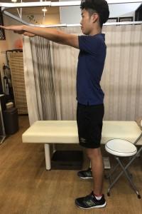 脊柱管狭窄症の座り方運動1